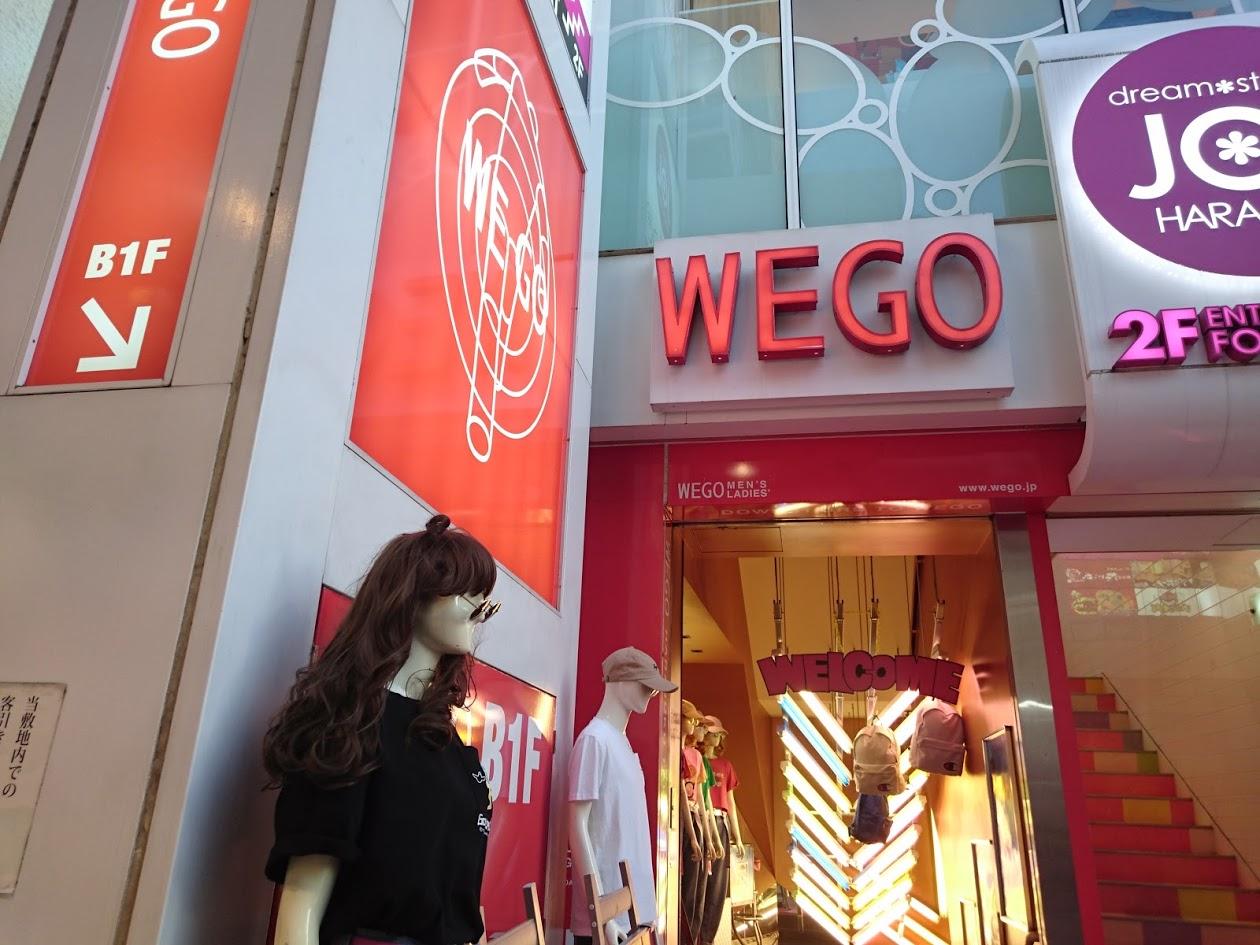 WEGO原宿竹下通り店(ウィゴー)